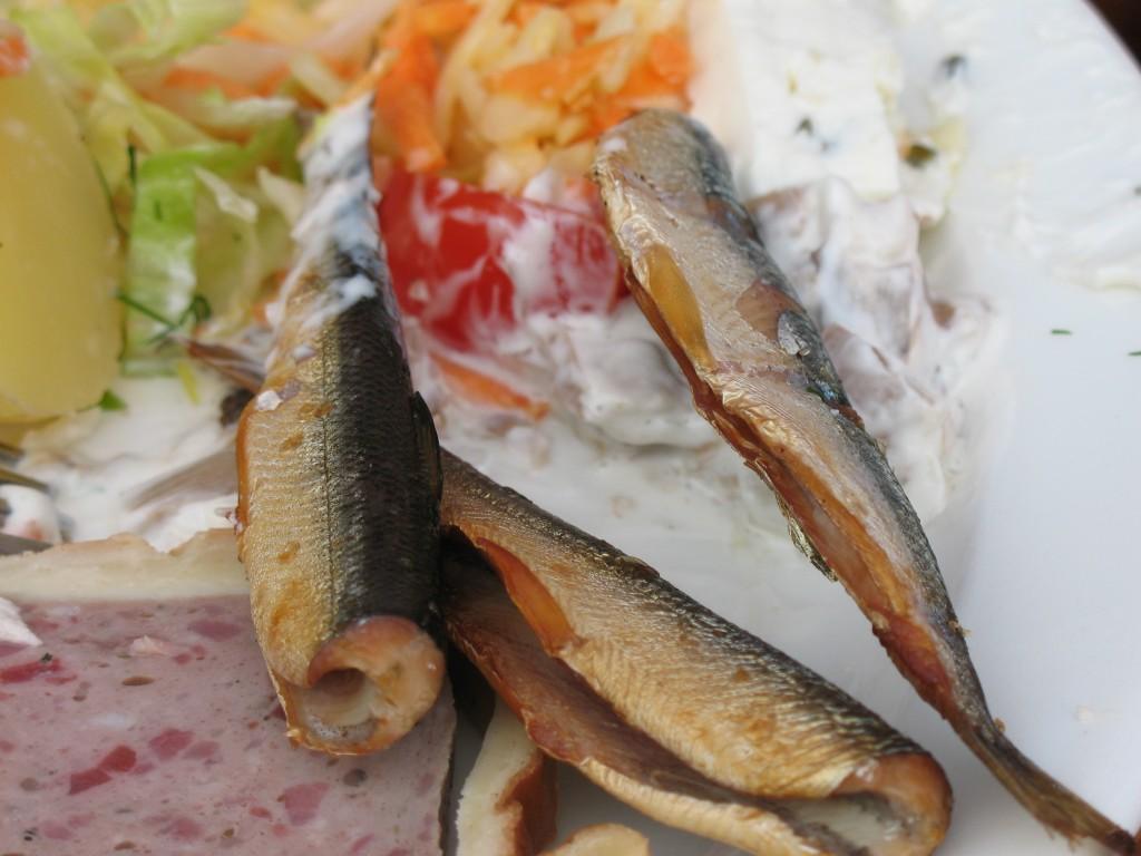 Tre fiskar i Savonlinna