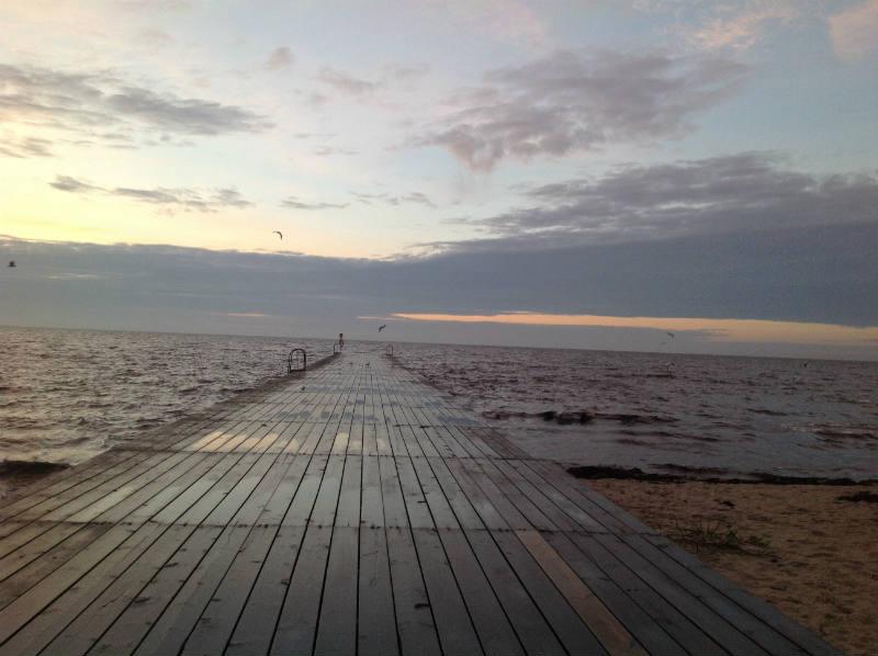 Ystad och havet