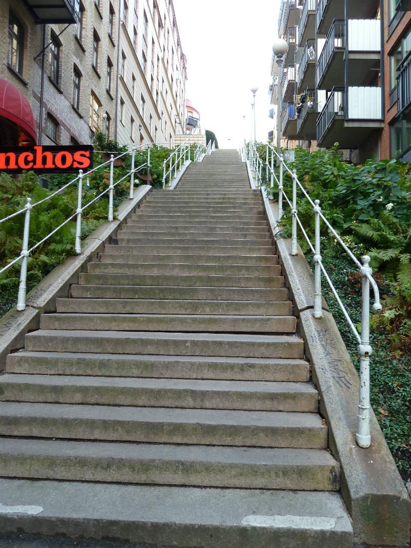 trappan till skolan